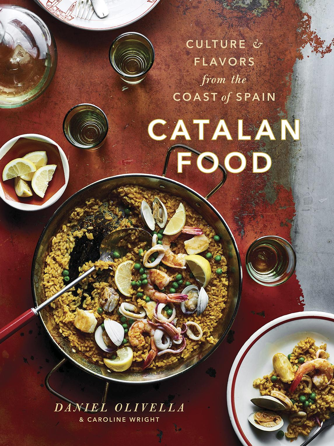 Food Book Cover Queensland : Catalan food culture and flavors from the mediterranean